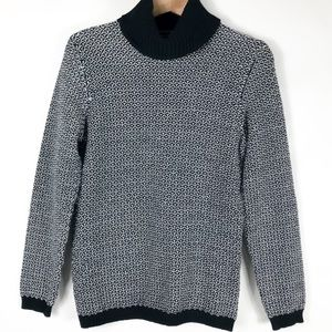 Karen Scott Women's Black Turtleneck Sweater Sz M